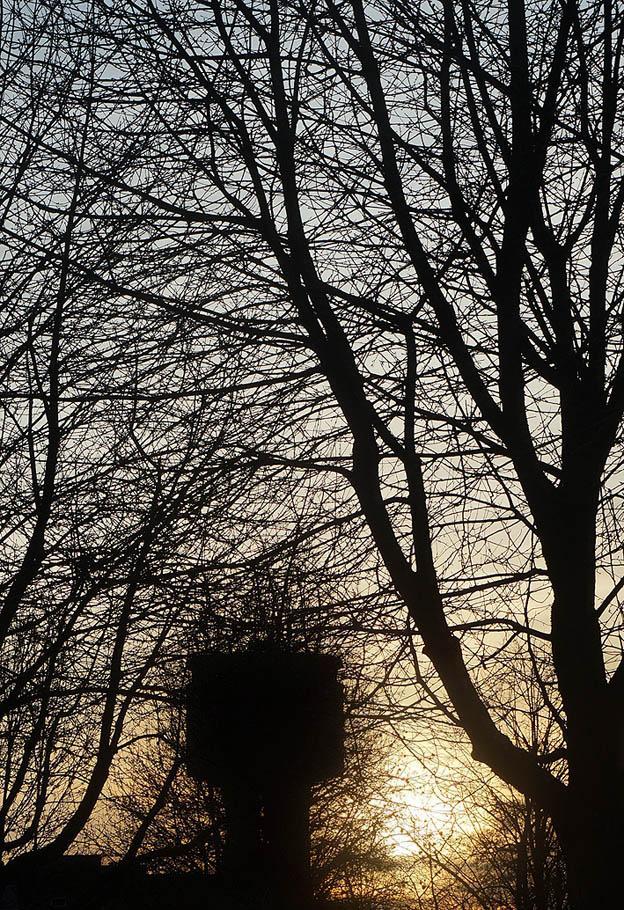 christmas sunset watertoren Assen