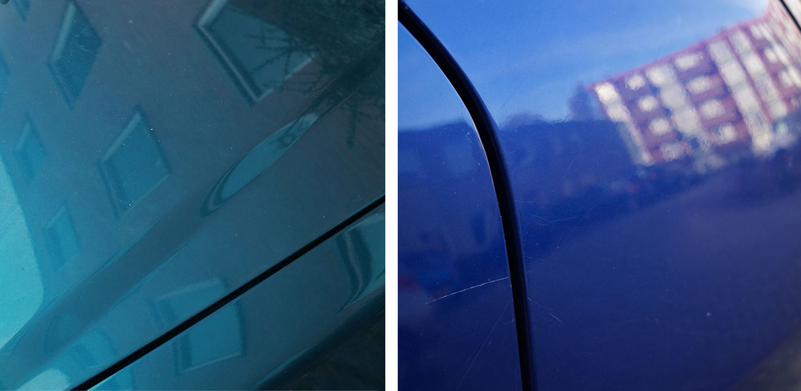 Spiegel | Waarom ik vooral van auto's kijken hou: ze weerspiegelen de omgeving zo mooi en dat kun je vervolgens fijn fotograferen.