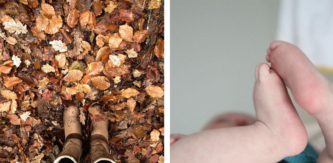 twee foto's, vier contrasten