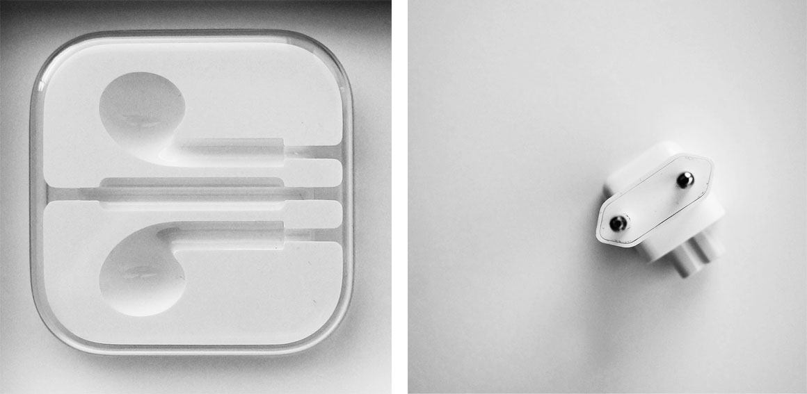 Apple   Ik hou erg van de vormgeving van Apple. Niet alleen zien de iMac, iPhone, iPods en iPad er mooi uit, ook aan de verpakkingen is veel zorg besteed.