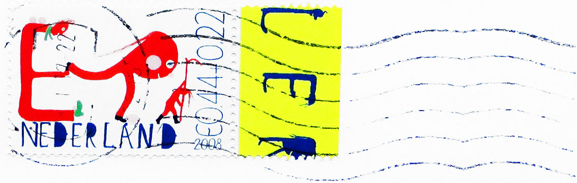 Gerda Bontsema - oude Nederlandse postzegels