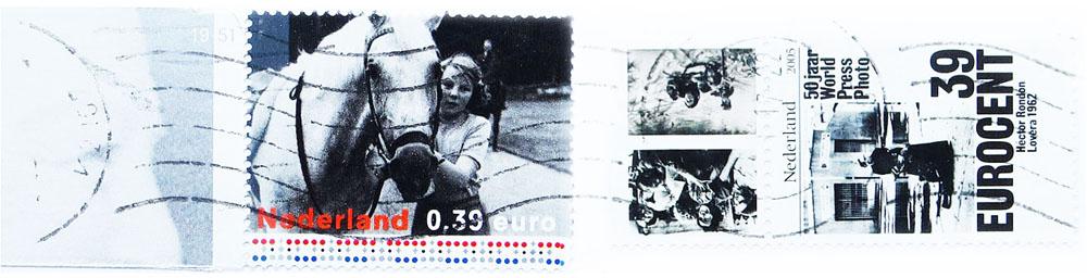 Gerda Bontsema - oude postzegels