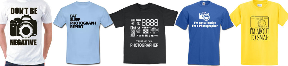 Gerda Bontsema T-shirts voor fotografen