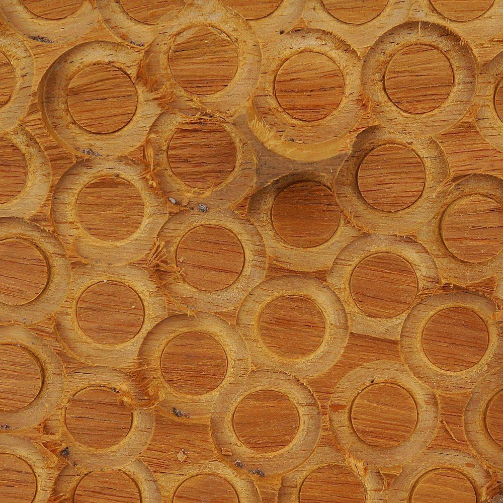 Gerda Bontsema | plankje met cirkels