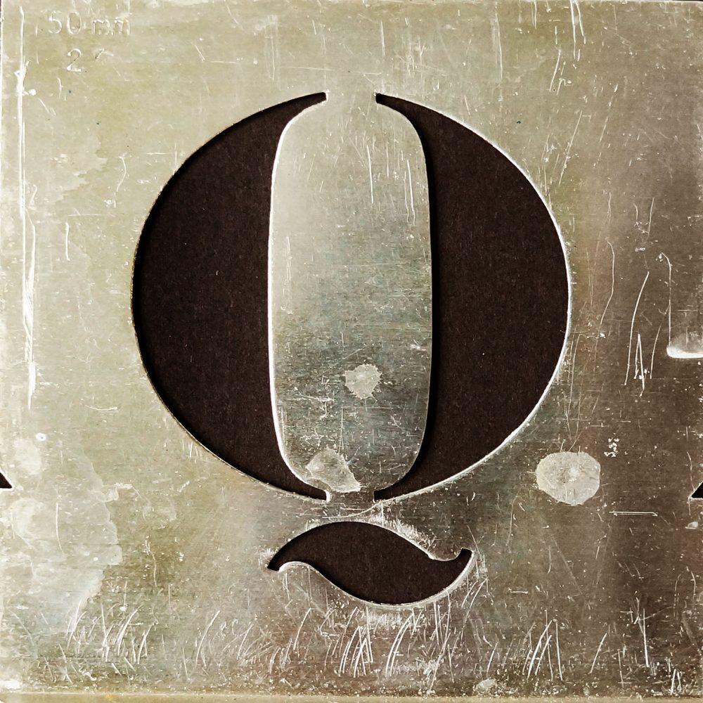 Gerda Bontsema - font - sjabloonletters